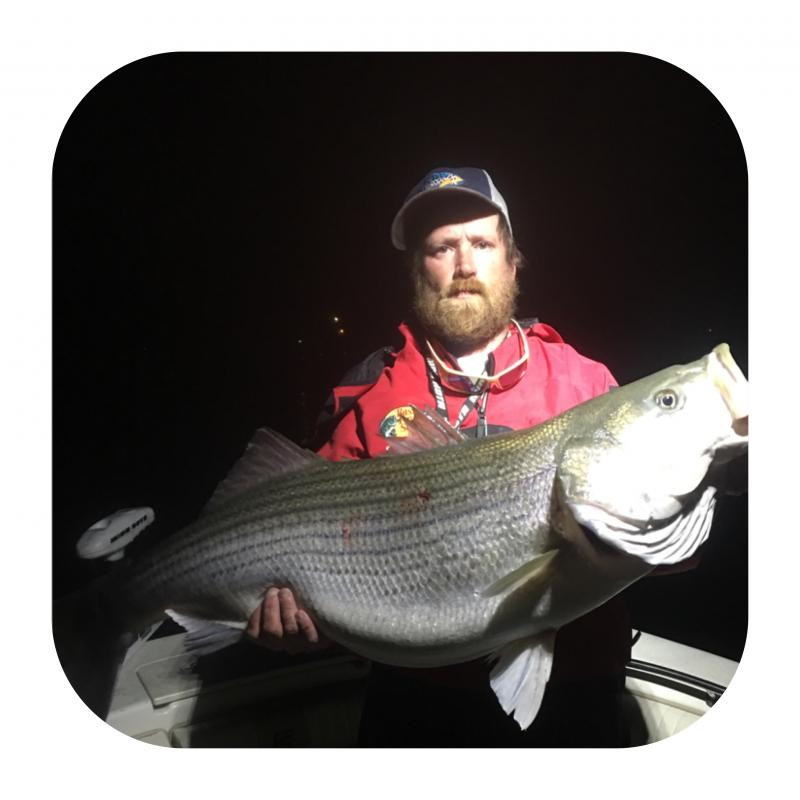 Mike Walker - Owner Of Got You Hooked Striped Bass Guide Service