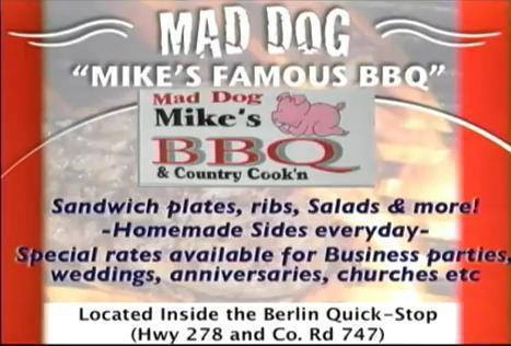 Mad Dog Mike's Famous Bar B Que