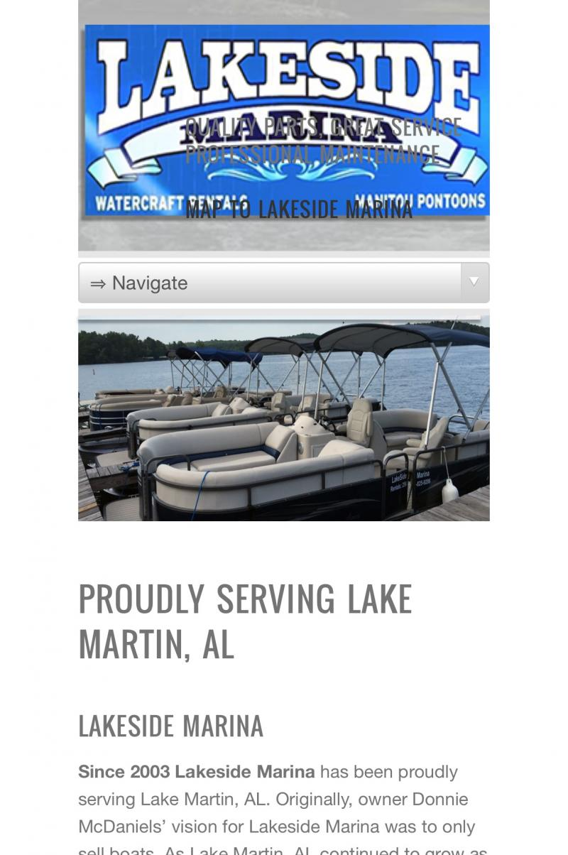 Lake Martin Marinas