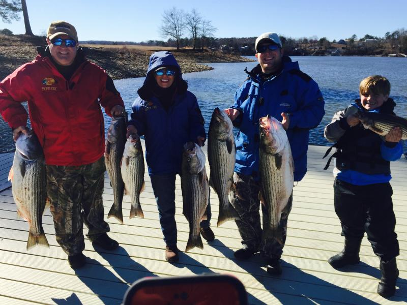 January 18th, 2015 Striper Trip
