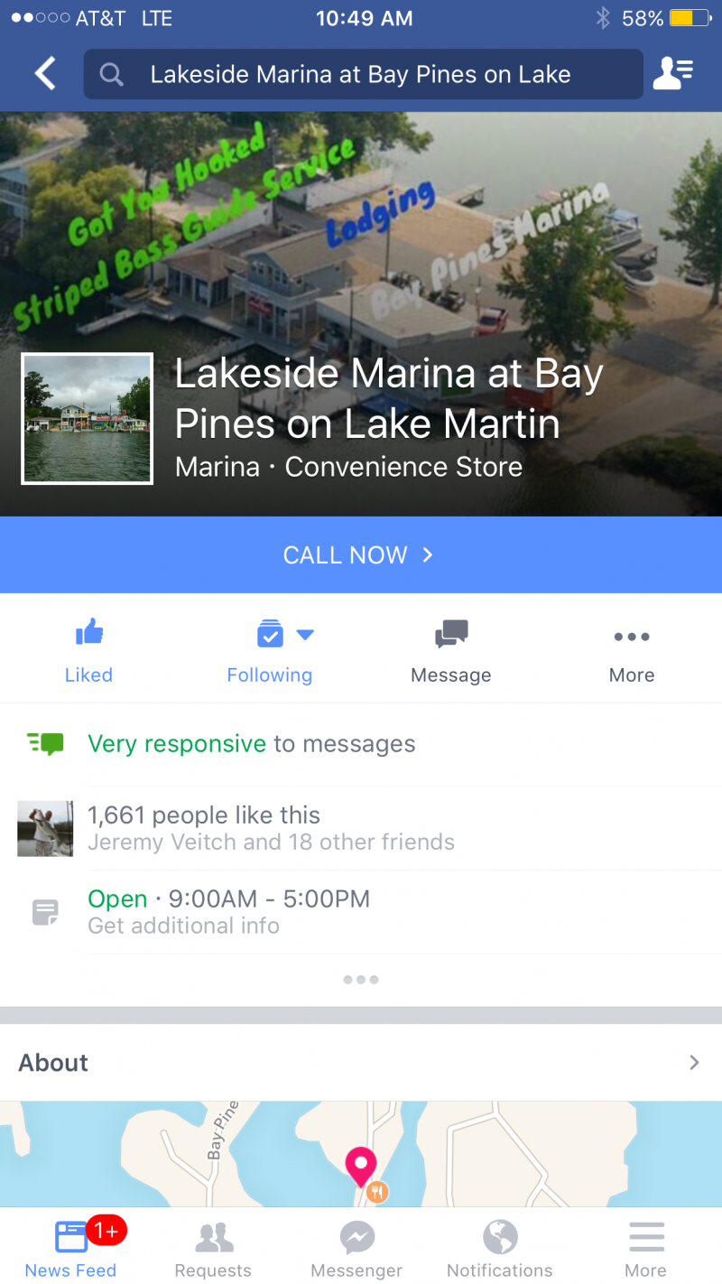 Bay Pines Marina - Home Of Got You Hooked Striped Bass Guide Service